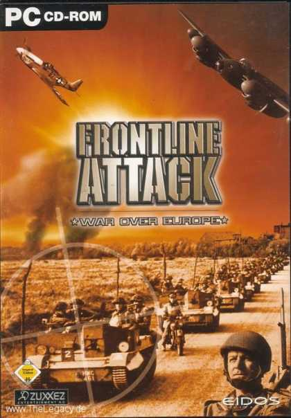 Misc. Games - Frontline Attack: War over Europe