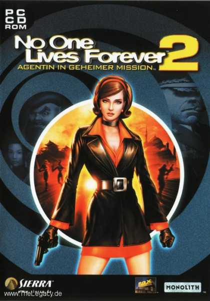 Misc. Games - No One Lives Forever 2: A Spy in H.A.R.M.'s Way