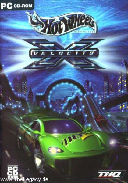 Misc. Games - Hot Wheels: Velocity X