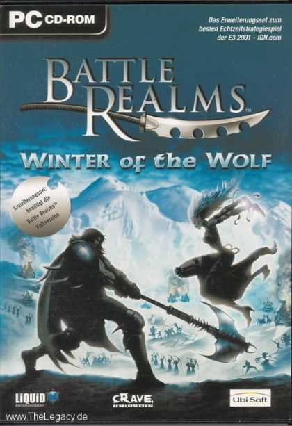 Misc. Games - Battle Realms: Winter of the Wolf