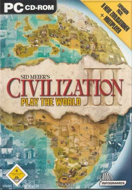 Misc. Games - Sid Meier's Civilization III: Play the World