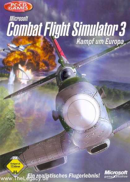 Misc. Games - Combat Flight Simulator 3: Kampf um Europa