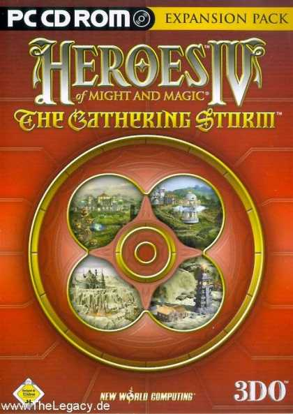 Misc. Games - Heroes of Might and Magic IV: The Gathering Storm