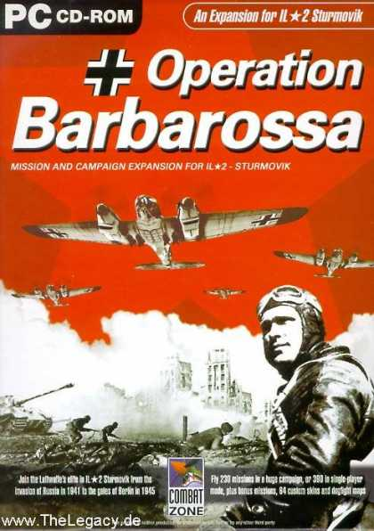 Misc. Games - IL*2 Sturmovik: Operation Barbarossa