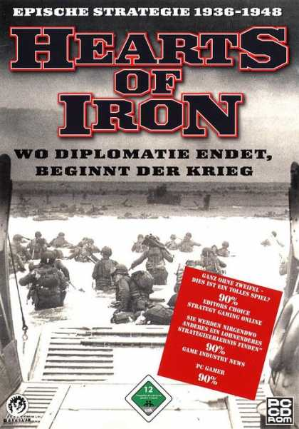 Misc. Games - Hearts of Iron 1936-1948