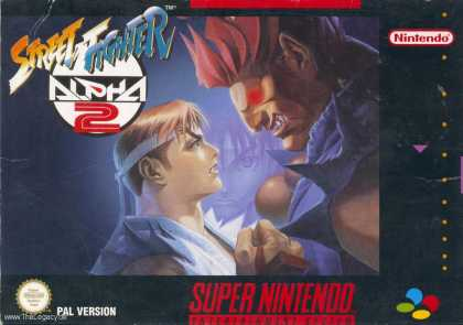 Misc. Games - Street Fighter Alpha 2