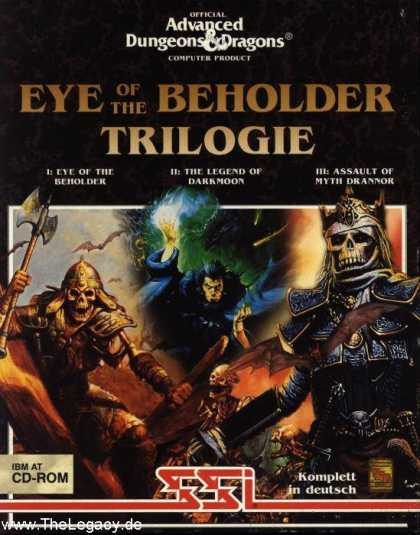 Misc. Games - Eye of the Beholder Trilogie