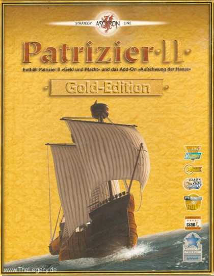 Misc. Games - Patrizier II - Gold-Edition