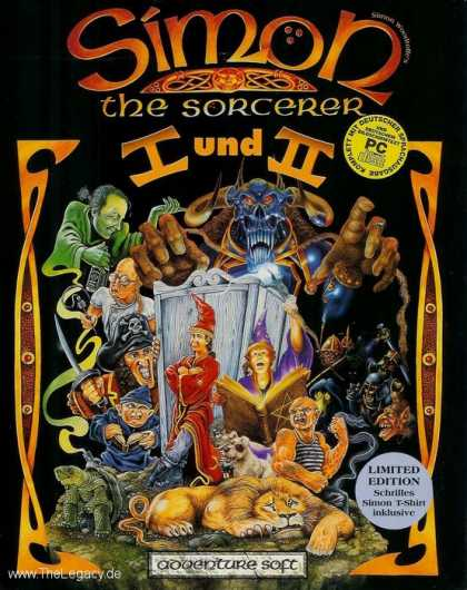 Misc. Games - Simon the Sorcerer I und II