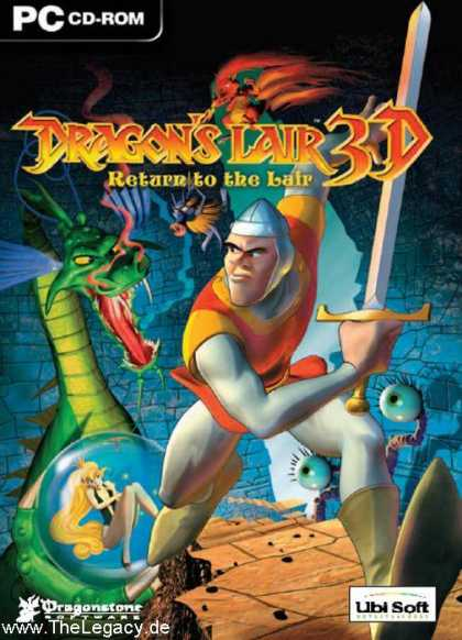 Misc. Games - Dragon's Lair 3D: Return to the Lair