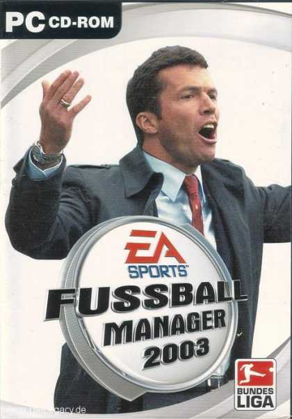 Misc. Games - Fussball Manager 2003