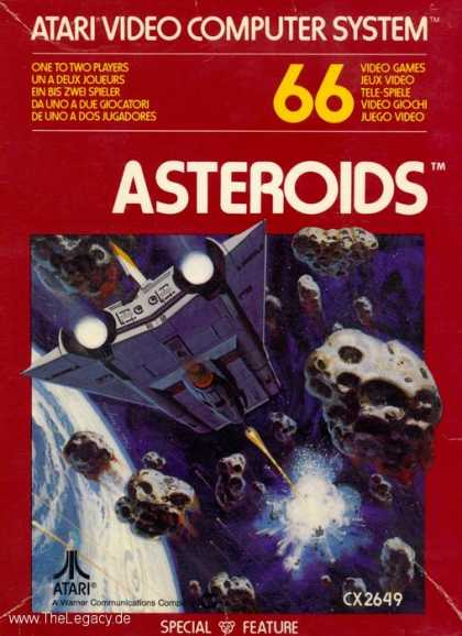 Misc. Games - Asteroids