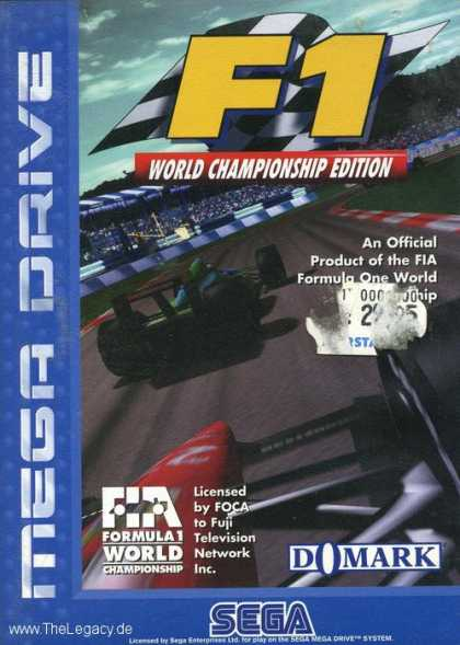 Misc. Games - F1: World Championship Edition