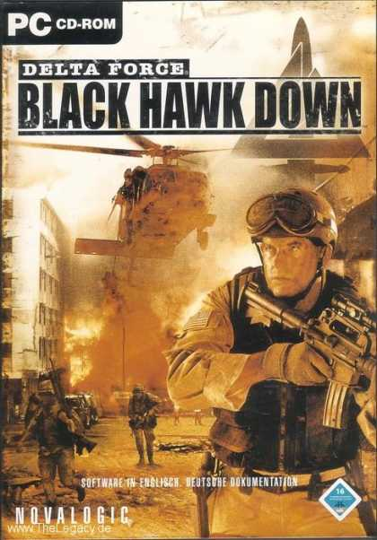 Misc. Games - Delta Force: Black Hawk Down