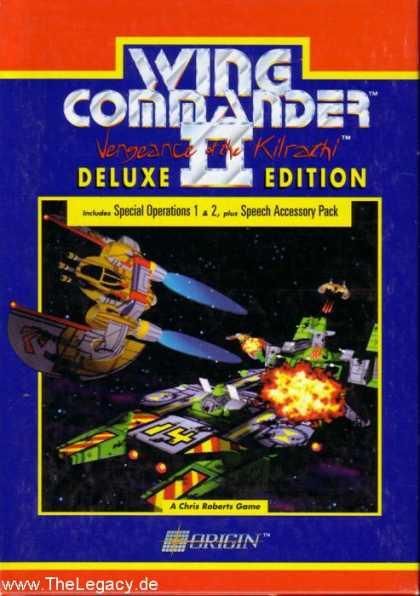 Misc. Games - Wing Commander II: Vengeance of the Kilrathi - Deluxe Edition