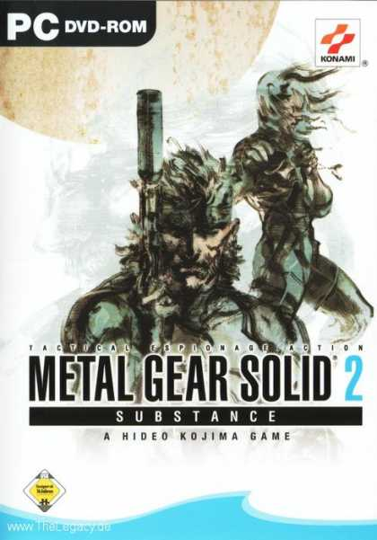 Misc. Games - Metal Gear Solid 2: Substance