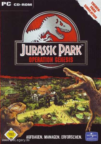 Misc. Games - Jurassic Park: Operation Genesis