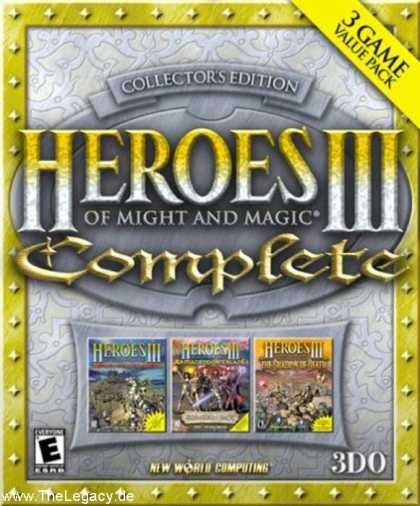 Misc. Games - Heroes of Might and Magic III: Complete