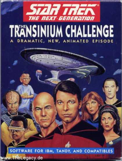 Misc. Games - Star Trek - The Next Generation: The Transinium Challenge