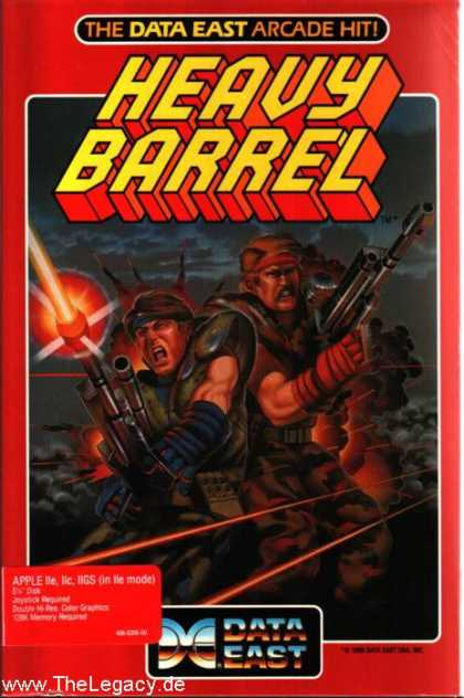 Misc. Games - Heavy Barrel
