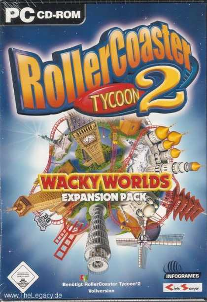 Misc. Games - RollerCoaster Tycoon 2: Wacky Worlds