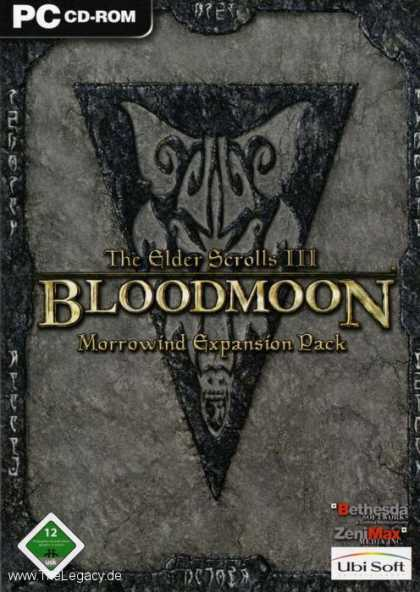 Misc. Games - Elder Scrolls III, The: Bloodmoon