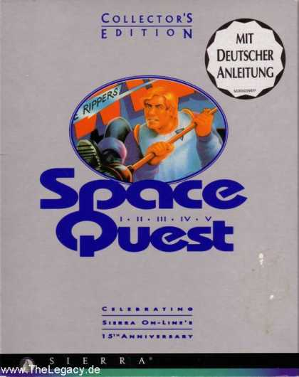 Misc. Games - Space Quest - Collector's Edition