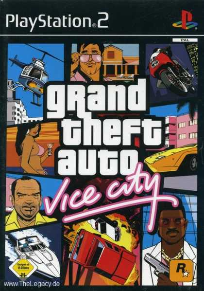 Misc. Games - Grand Theft Auto - Vice City