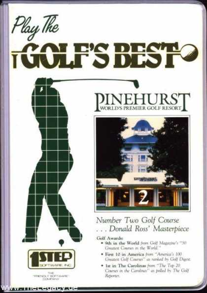 Misc. Games - Golf's Best Pinehurst