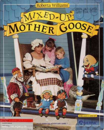 Misc. Games - Mixed-up Mother Goose