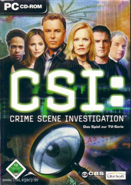 Misc. Games - CSI: Crime Scene Investigation