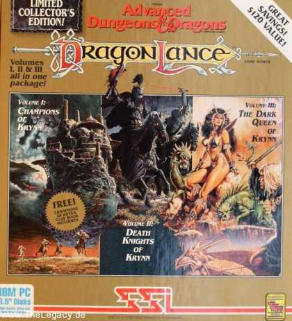Misc. Games - Dragonlance - Limited Collector's Edition