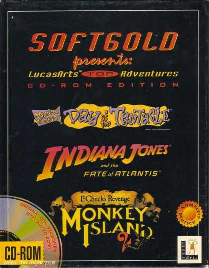 Misc. Games - LucasArts Top Adventures