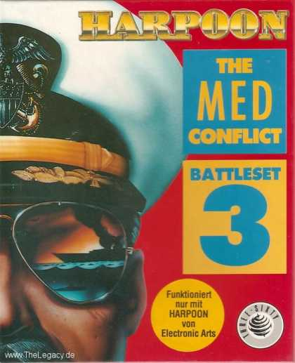 Misc. Games - Harpoon Battleset 3: The MED Conflict