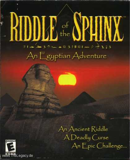 Misc. Games - Riddle of the Sphinx