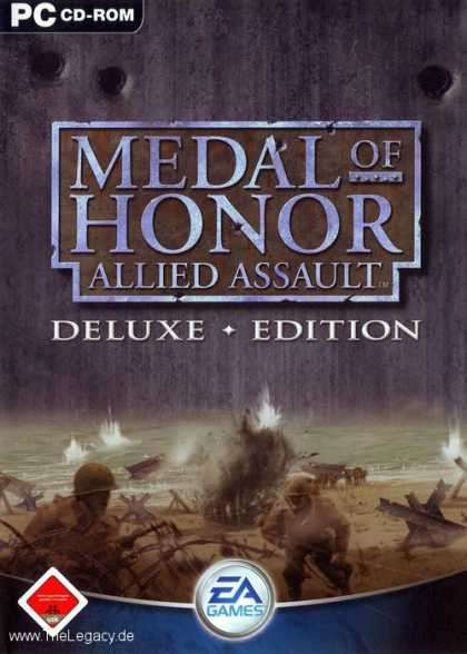 Misc. Games - Medal of Honor - Allied Assault - Deluxe Edition