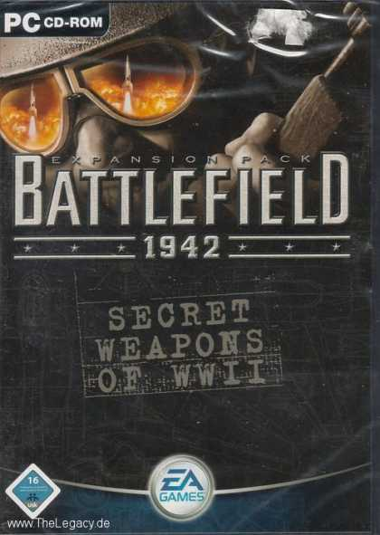 Misc. Games - Battlefield 1942: Secret Weapons of WWII