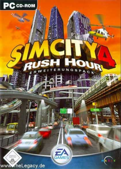 Misc. Games - Sim City 4: Rush Hour
