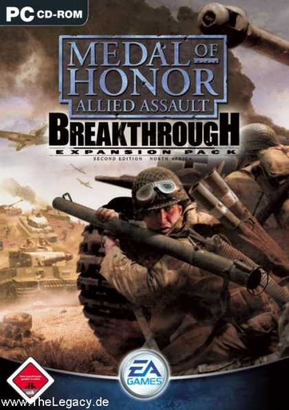 Misc. Games - Medal of Honor - Allied Assault: Breakthrough