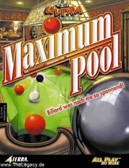 Misc. Games - 3-D Ultra Maximum Pool