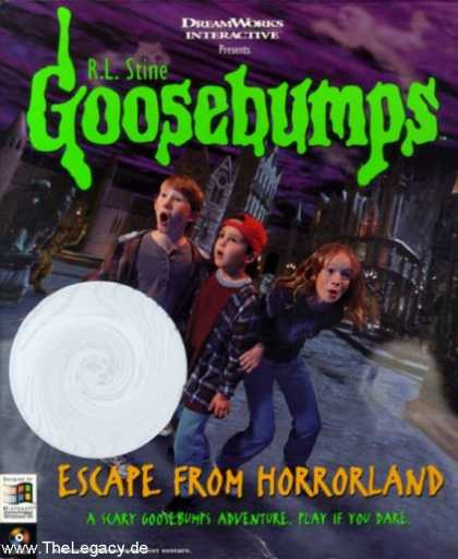 Misc. Games - Goosebumps: Escape from Horrorland