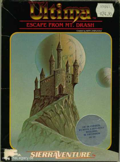 Misc. Games - Ultima: Escape from Mount Drash
