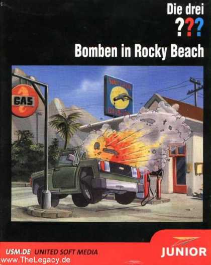 Misc. Games - Drei ??? 2, Die: Bomben in Rocky Beach