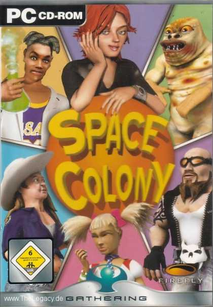 Misc. Games - Space Colony