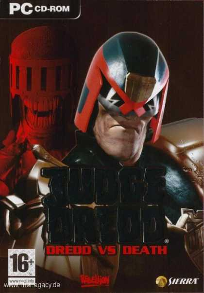 Misc. Games - Judge Dredd: Dredd vs Death