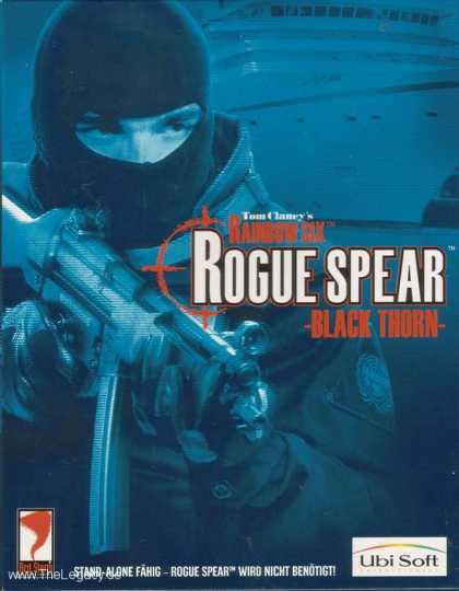 Misc. Games - Tom Clancy's Rainbow Six: Rouge Spear: Black Thorn