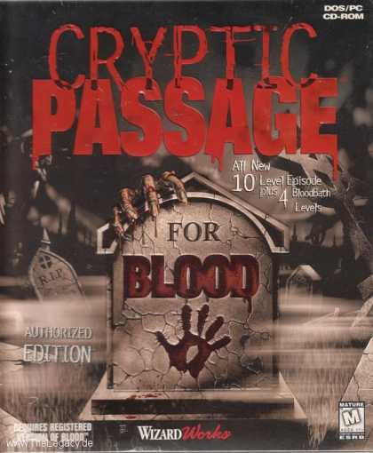 Misc. Games - Blood: Cryptic Passage