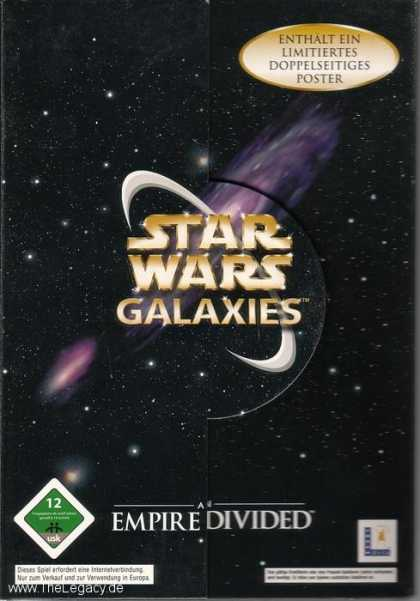 Misc. Games - Star Wars Galaxies - An Empire Divided