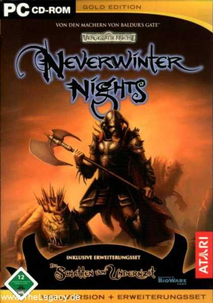 Misc. Games - Neverwinter Nights - Gold Edition