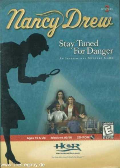 Misc. Games - Nancy Drew 2: Stay tuned for Danger